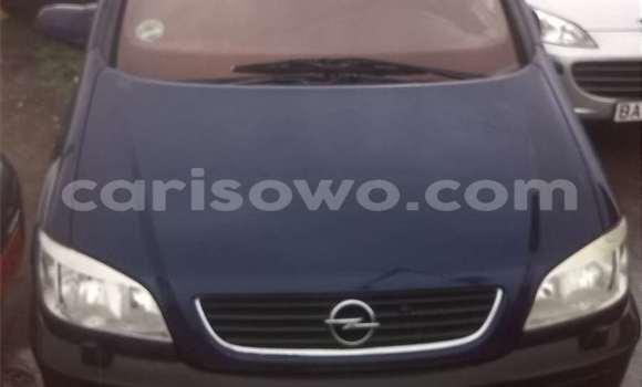 Acheter Voiture Opel Zafira Bleu à Savalou en Benin