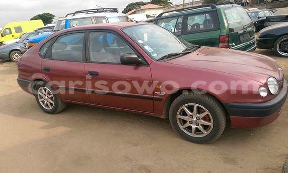 Acheter Voiture Toyota Corolla Rouge à Comé en Benin