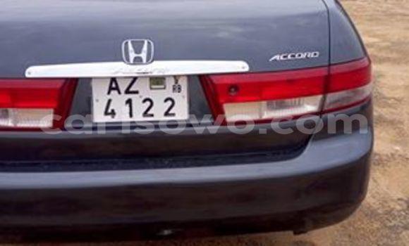 Acheter Voiture Honda Accord Noir à Savalou en Benin