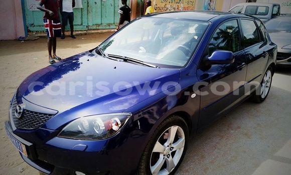 Acheter Voiture Mazda 3 Bleu en Cotonou