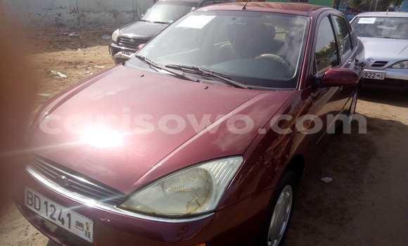 Acheter Voiture Ford Focus Rouge à Cotonou en Benin