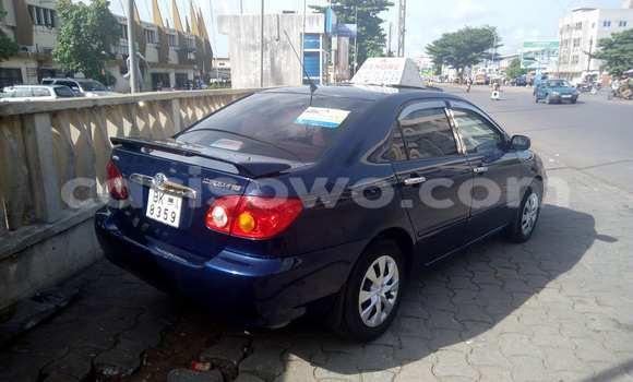 Acheter Voiture Toyota Corolla Bleu à Cotonou en Benin