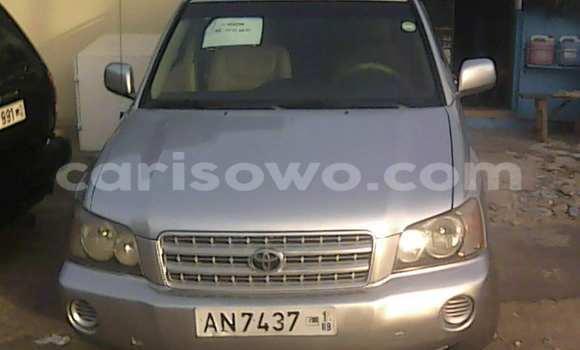 Acheter Voiture Toyota Highlander Gris à Cotonou en Benin