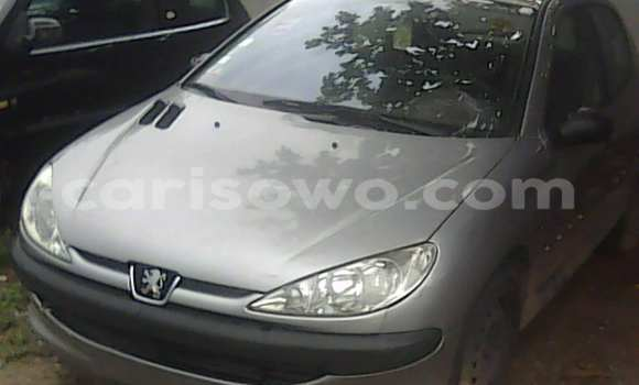 Acheter Voiture Peugeot 206 Gris à Porto Novo en Benin