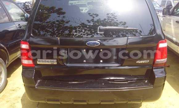 Acheter Voiture Ford Escape Noir à Porto Novo en Benin