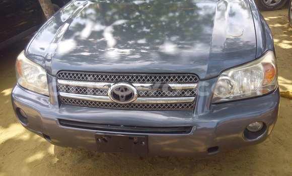 Acheter Voiture Toyota Highlander Gris à Porto Novo en Benin