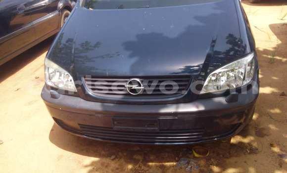 Acheter Voiture Opel Zafira Noir à Porto Novo en Benin