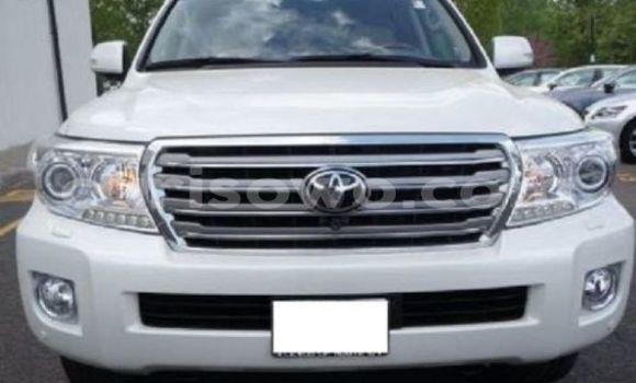 Acheter Voiture Toyota Land Cruiser Blanc à Cotonou en Benin